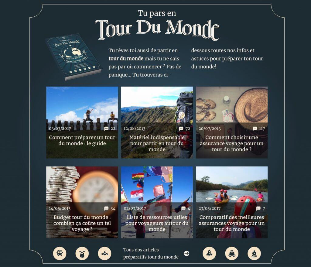 novomonde tour du monde