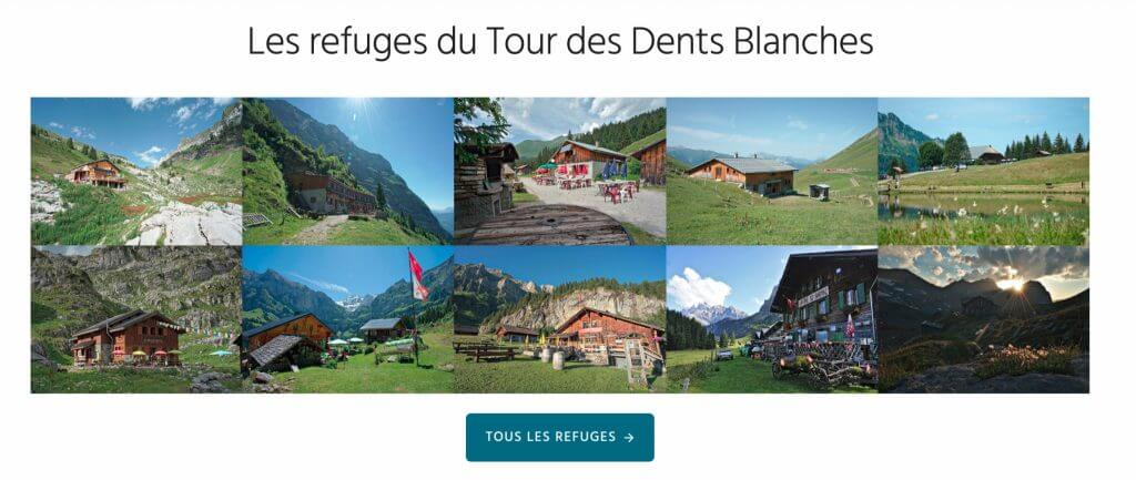 refuges dents blanches