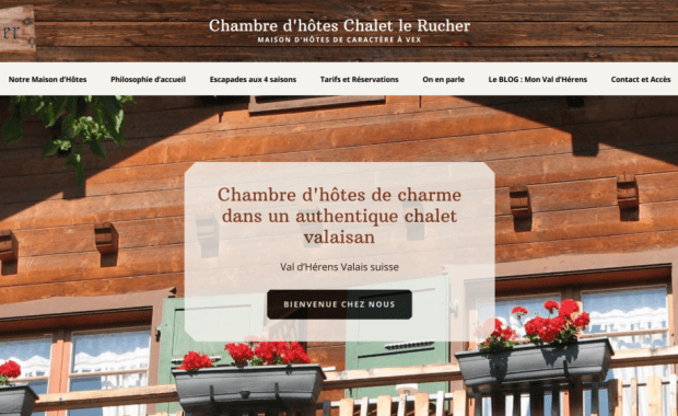 chalet le rucher home
