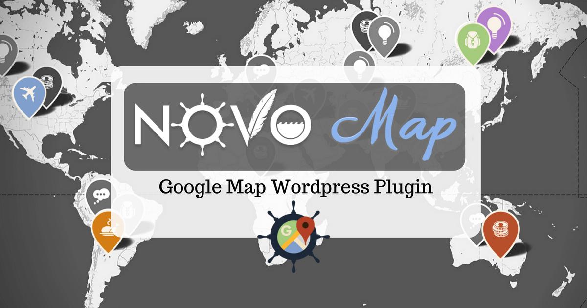 Novo-map wordpress Plugin: Show your posts on custom google maps
