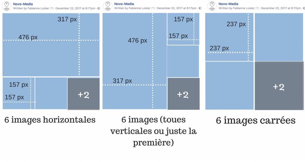 galerie images facebook dimensions