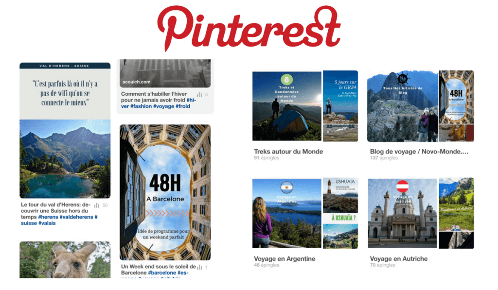 pinterest taille images