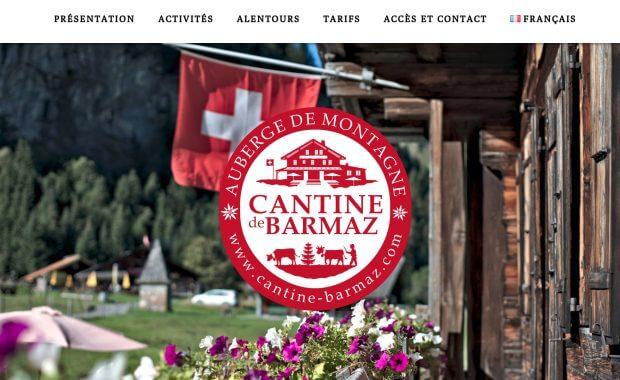site cantine de Barmaz