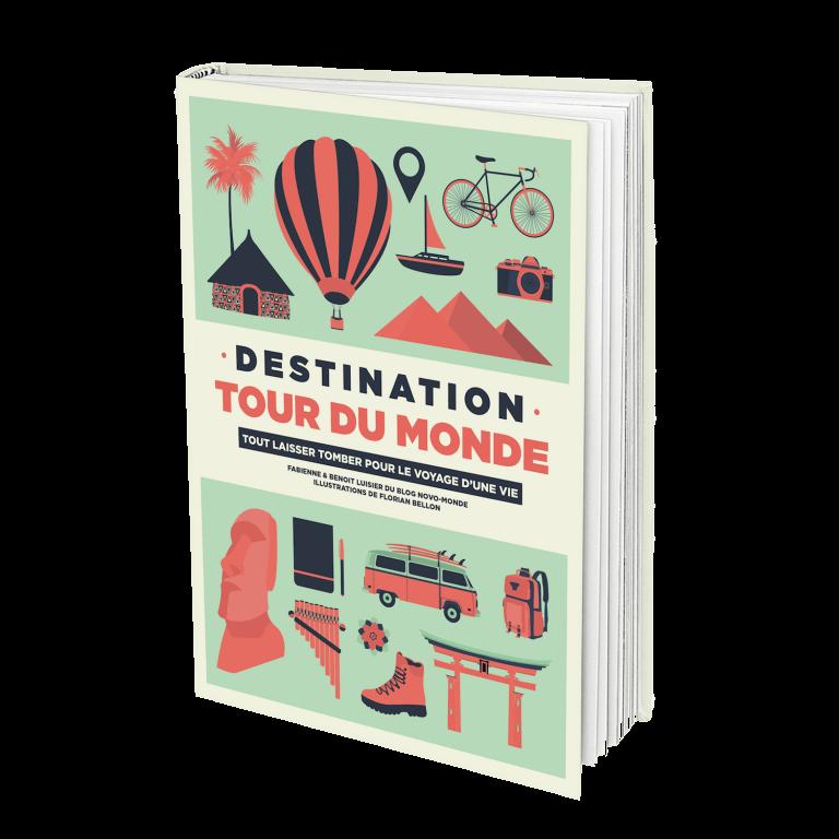 Livre voyage, destination tour du monde