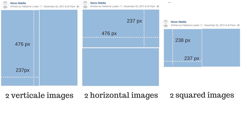 facebook 2 images album sizes
