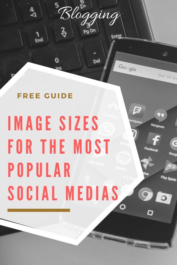 image sizes social media