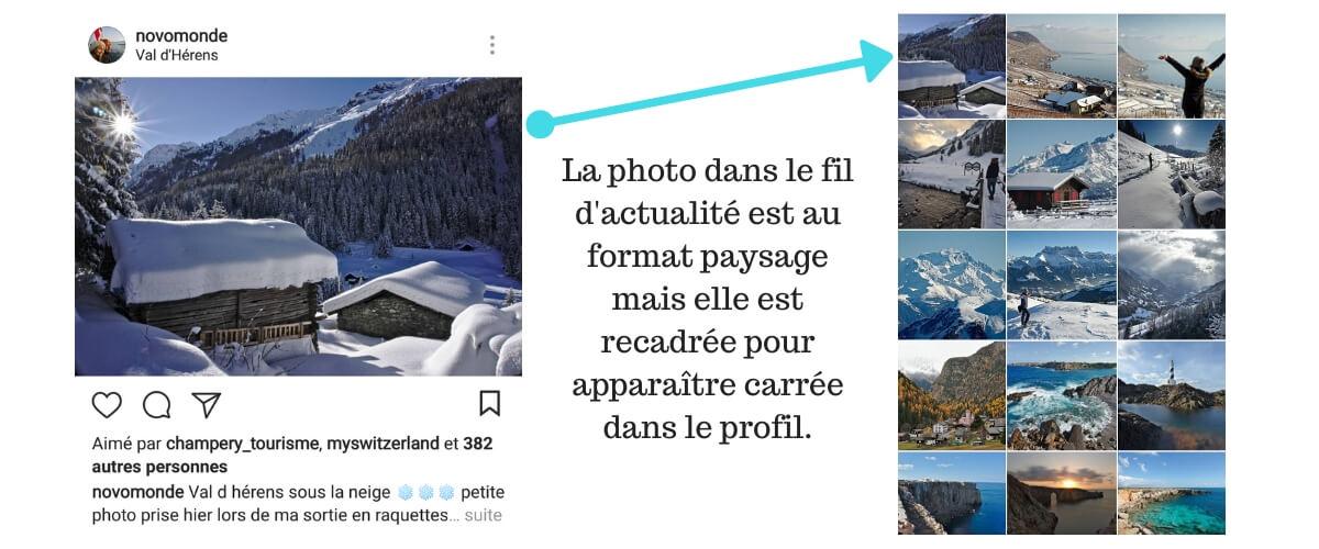 intagram image size