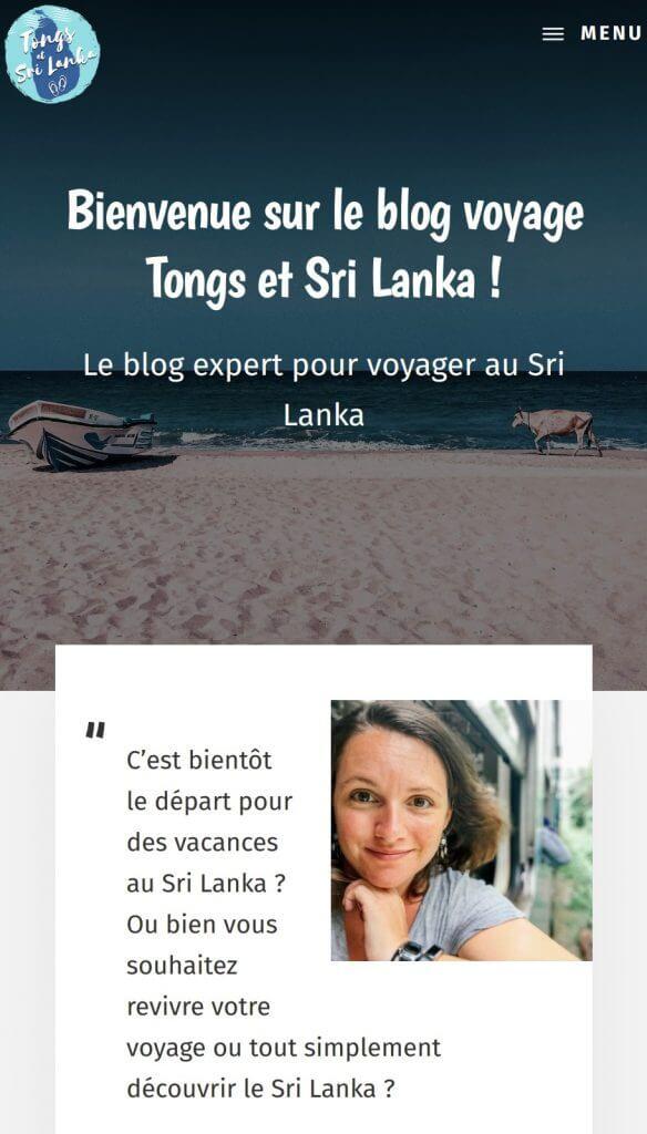 home tongs et srilanka