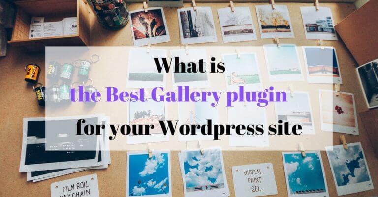 best gallery plugin wordpress