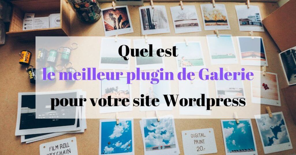 plugin galeire photo wordpress