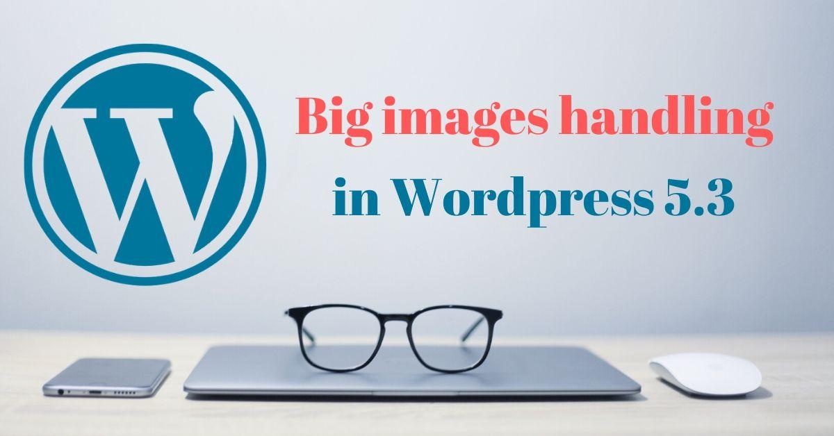 big images handling in wp 5.3