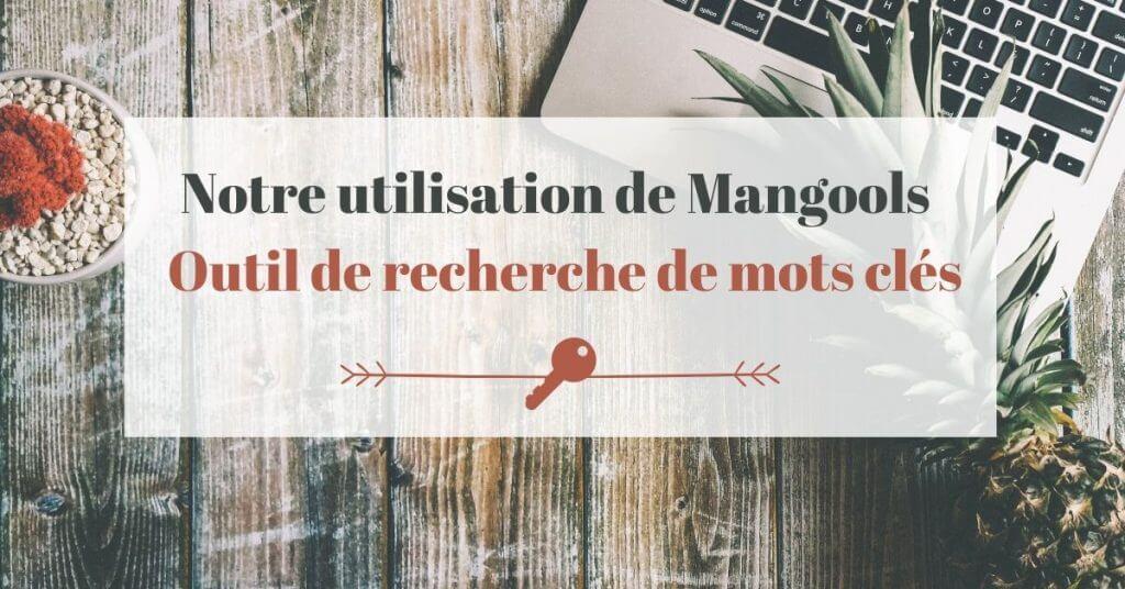 Notre utilisation de Mangools – Outil de recherche de mots clés -