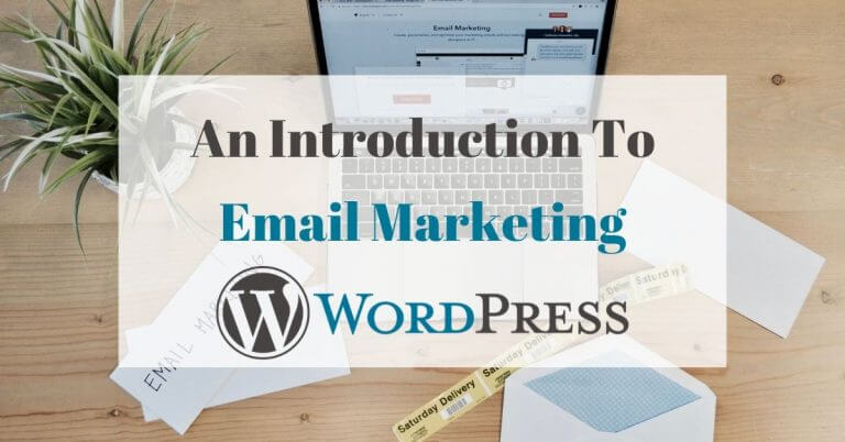email newsletter wordpress