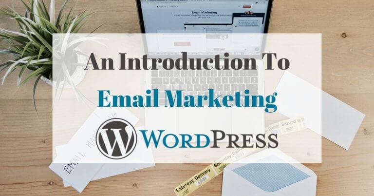 email newsletter wordpress