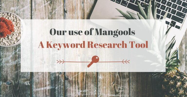 Our use of Mangools - Keyword search tool - copy
