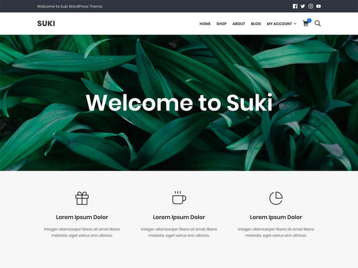 suki WordPress theme