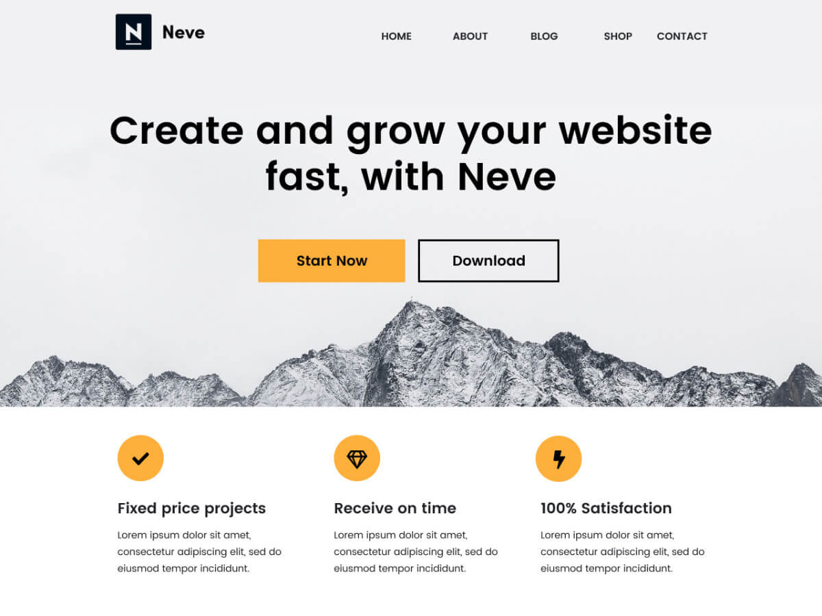 theme wordpress neve