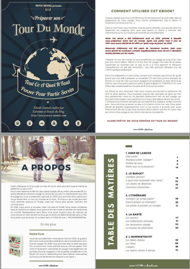 ebook tour du monde