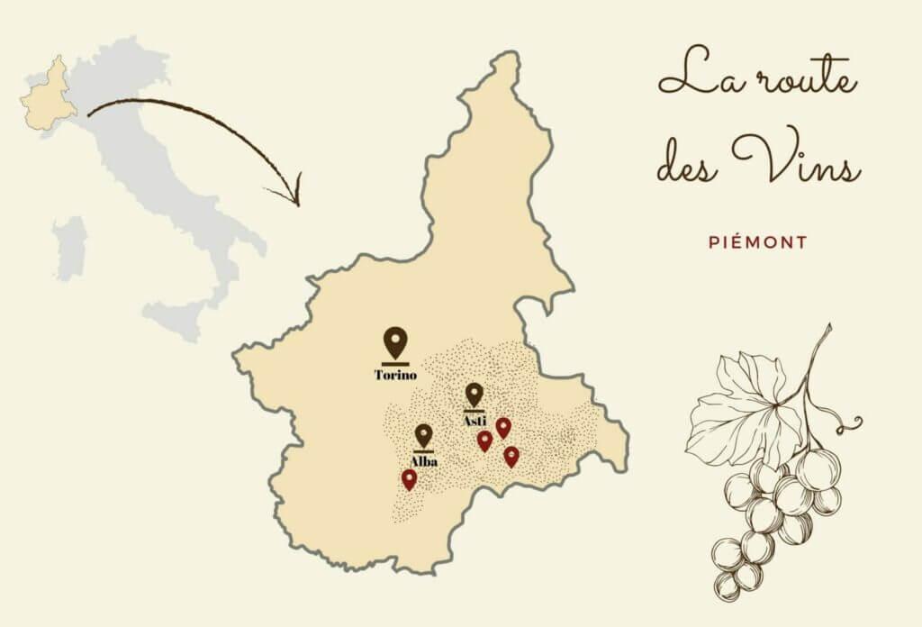 route des vins canva