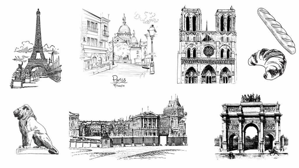 univers paris dessin