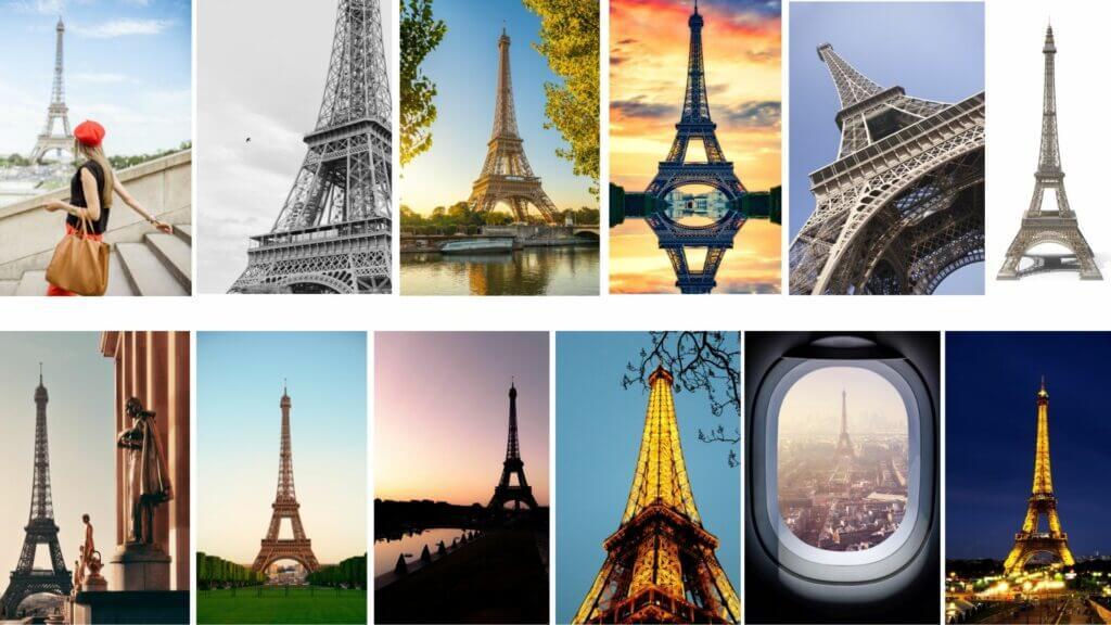 images de la tour eiffel