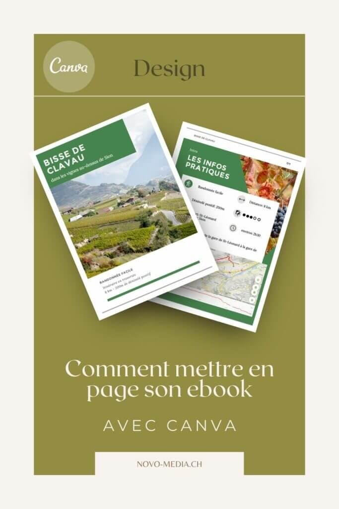 mise en page ebook