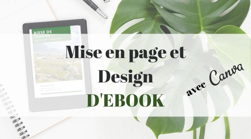 mise en page et design ebook