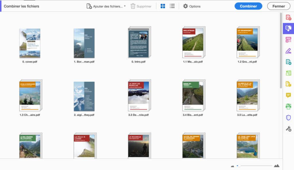 combinaison de pdf