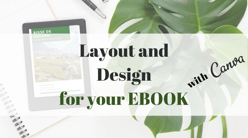 layout and design with canva
