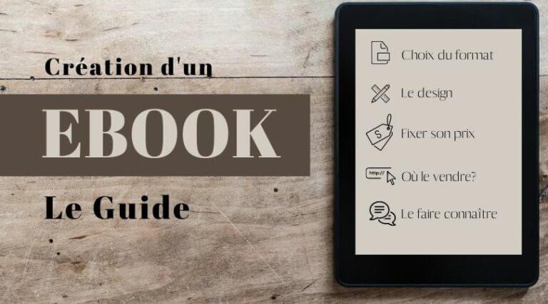 créér un ebook