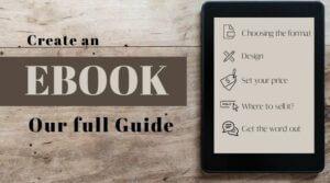 create an ebook