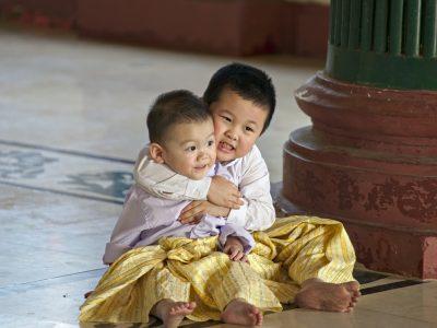 enfants - Birmanie